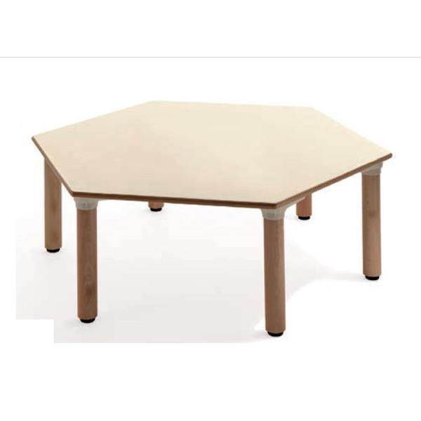 Tavolo materna esagonale tavoli cwr for Arredo scuola materna