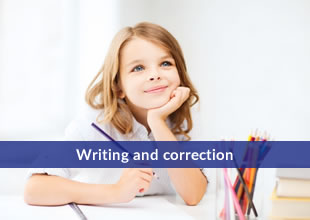 writing and correction